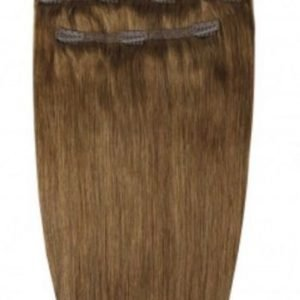 "Beauty Works 16"" Deluxe Remy Clip In Extensions Caramel"