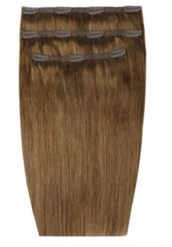 """Beauty Works 16"""" Deluxe Remy Clip In Extensions Caramel"""