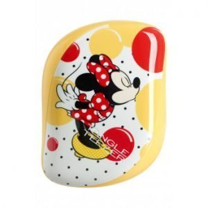Tangle Teezer Compact Styler, Minnie Mouse Sunshine Yellow
